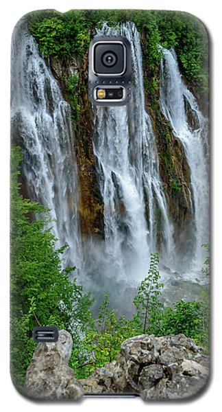 Plitvice Lakes Waterfall - A Balkan Wonder In Croatia Galaxy S5 Case