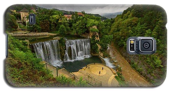 Pliva Waterfall, Jajce, Bosnia And Herzegovina Galaxy S5 Case