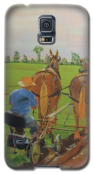 Plowing Match Galaxy S5 Case