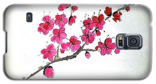 Plum Blossoms Galaxy S5 Case