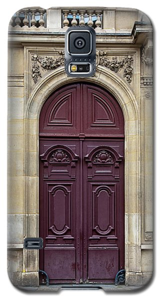 Plum Door - Paris, France Galaxy S5 Case by Melanie Alexandra Price