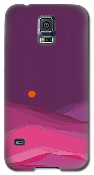 Plum Hills II Galaxy S5 Case by Val Arie