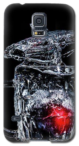 Plum Splash Galaxy S5 Case