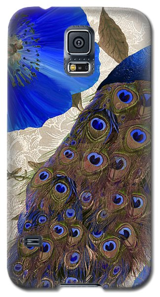 Peacock Galaxy S5 Case - Plumage by Mindy Sommers