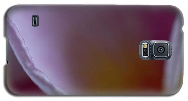 Galaxy S5 Case featuring the photograph Plumeria Edge by Roger Mullenhour