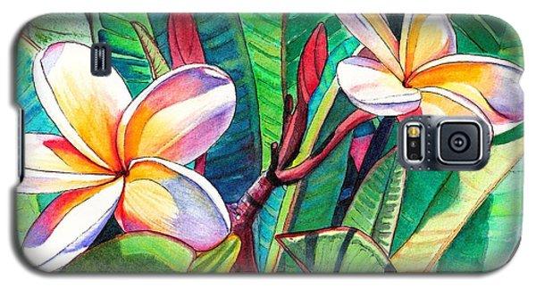 Plumeria Garden Galaxy S5 Case