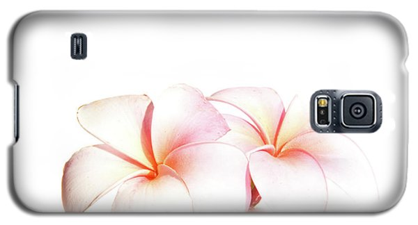 Galaxy S5 Case featuring the photograph Plumeria by Roger Mullenhour