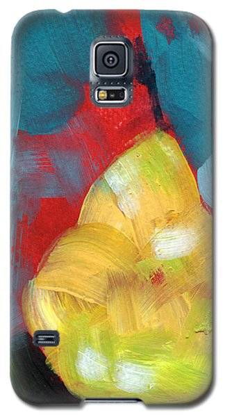 Pear Galaxy S5 Case - Plump Pear- Art By Linda Woods by Linda Woods