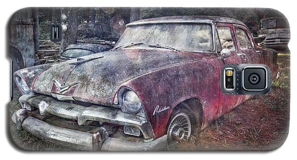 Galaxy S5 Case featuring the photograph Plymouth Belvedere by Debra and Dave Vanderlaan