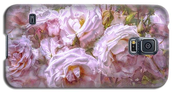 Galaxy S5 Case featuring the digital art Pocket Full Of Roses by Kari Nanstad