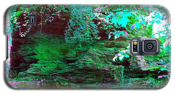 Galaxy S5 Case featuring the photograph Pocono Hike by Susan Carella