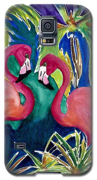 Poin And Settia Dine At The Palm Galaxy S5 Case