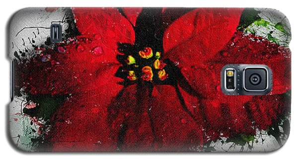 Poinsettia Galaxy S5 Case