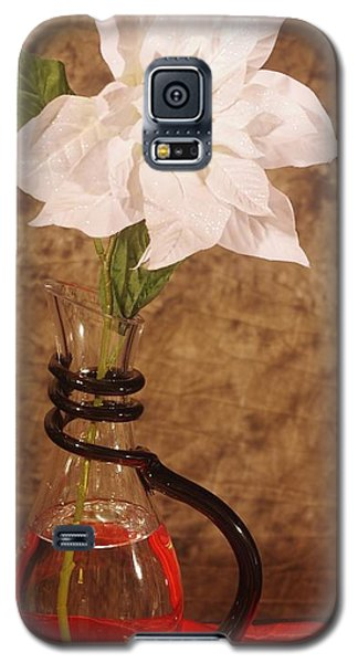 Poinsettia In Pitcher  Galaxy S5 Case