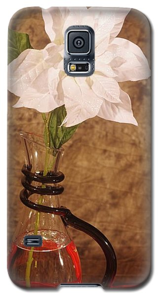Poinsettia In Pitcher  Galaxy S5 Case