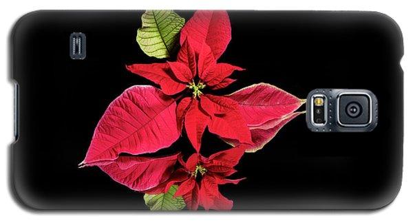 Poinsettia Reflection  Galaxy S5 Case
