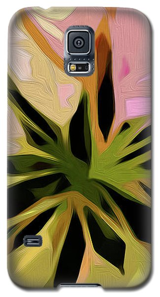 Poinsettia Tile Galaxy S5 Case