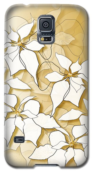 Poinsettias Galaxy S5 Case