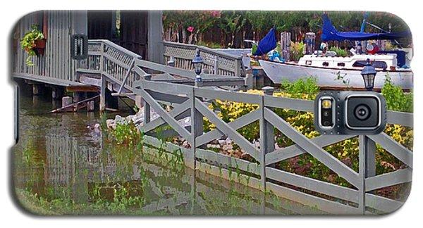Point Clear Bridge At Grand Hotel Galaxy S5 Case