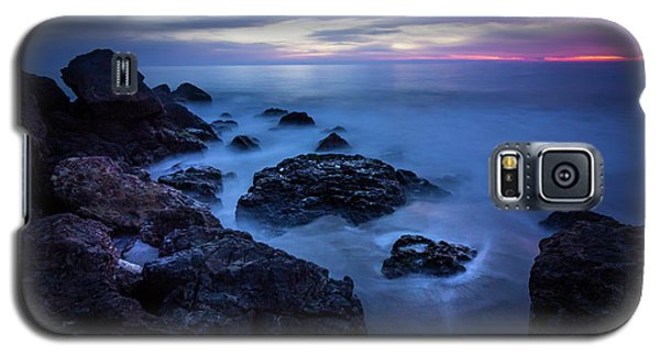 Point Dume Rock Formations Galaxy S5 Case