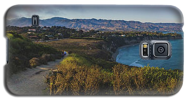 Point Dume Sunset Panorama Galaxy S5 Case