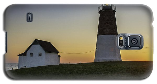 Point Judith Light At Sunset Galaxy S5 Case