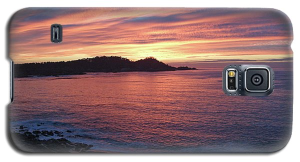 Point Lobos Red Sunset Galaxy S5 Case