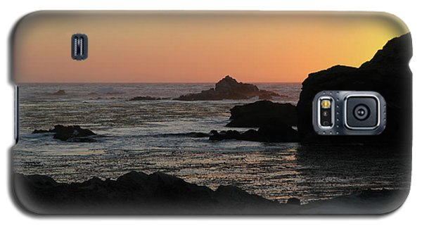Galaxy S5 Case featuring the photograph Point Lobos Sunset by David Chandler