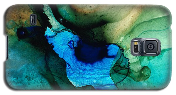 Point Of Power - Abstract Painting By Sharon Cummings Galaxy S5 Case