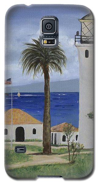 Point Vicente Lighthouse Galaxy S5 Case by Jamie Frier