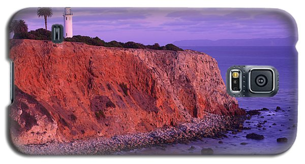 Galaxy S5 Case featuring the photograph Point Vicente Lighthouse - Point Vicente - Orange County by Photography By Sai