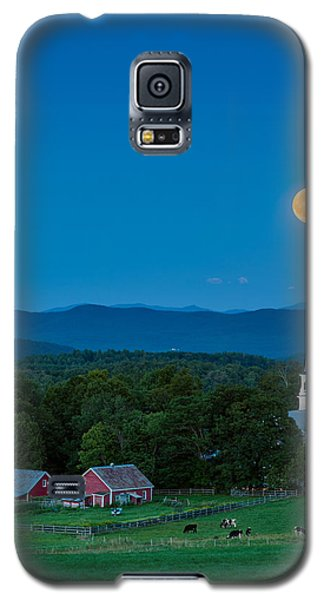 Pointing At The Moon Galaxy S5 Case