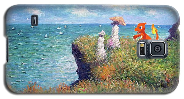 Galaxy S5 Case featuring the digital art Pokemonet Seaside by Greg Sharpe