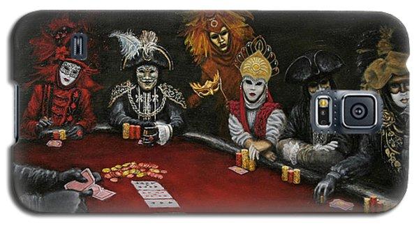 Poker Face II Galaxy S5 Case by Jason Marsh