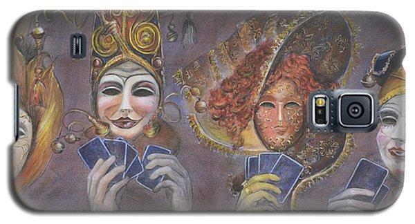 Poker Game Faces Galaxy S5 Case
