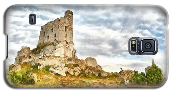 Mirow Castle Ruins In Poland Galaxy S5 Case by Maciek Froncisz