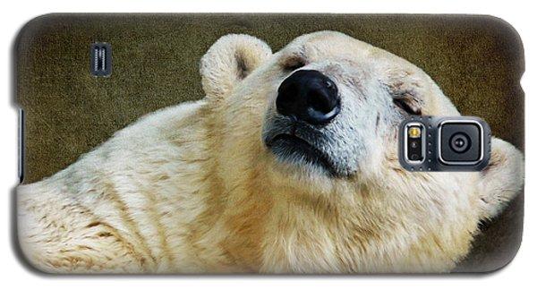 Polar Bear Galaxy S5 Case - Polar Bear by Angela Doelling AD DESIGN Photo and PhotoArt