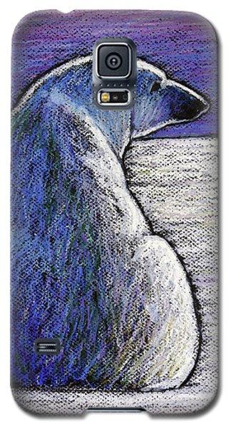 Polar Bear Galaxy S5 Case - Polar Bear Backside by Ande Hall