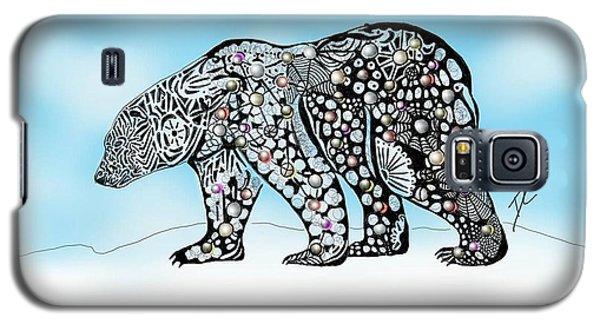 Polar Bear Doodle Galaxy S5 Case