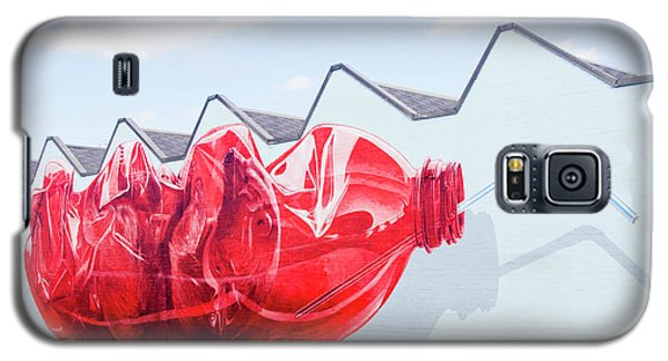 Galaxy S5 Case featuring the photograph Polar Bear In A Coke Bottle by Chris Dutton