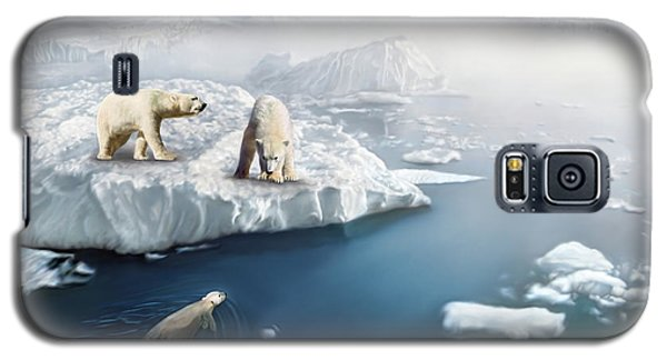 Polar Bears Galaxy S5 Case by Thanh Thuy Nguyen