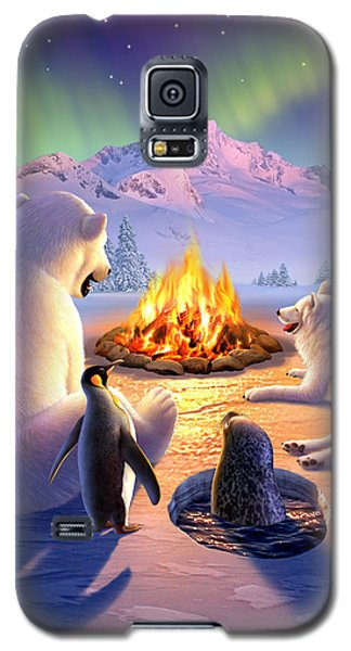 Bear Galaxy S5 Case - Polar Pals by Jerry LoFaro