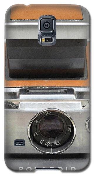 Polaroid Sx70 On White Galaxy S5 Case
