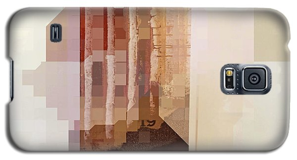 Galaxy S5 Case featuring the photograph Polaroids Abstract 1 by Carol Leigh
