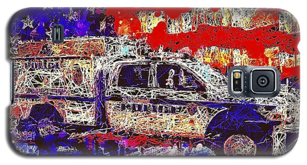 Police Truck Galaxy S5 Case