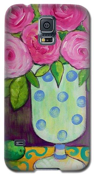 Polka-dot Vase Galaxy S5 Case by Rosemary Aubut