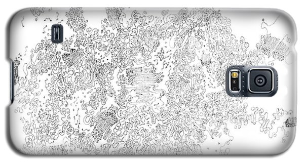 Polymer Crystallization With Modifiers Galaxy S5 Case