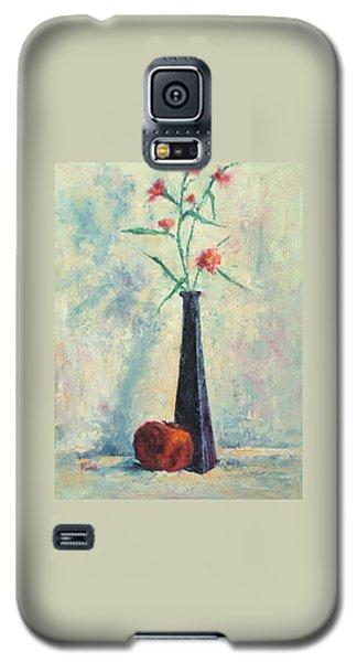 Pomegranate And Black Vase Galaxy S5 Case