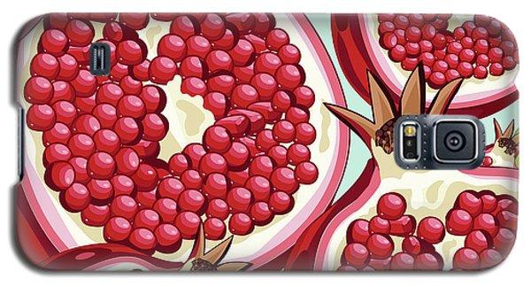 Pomegranate   Galaxy S5 Case by Mark Ashkenazi