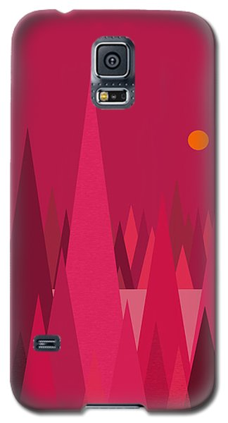 Pomegranate Wood Galaxy S5 Case